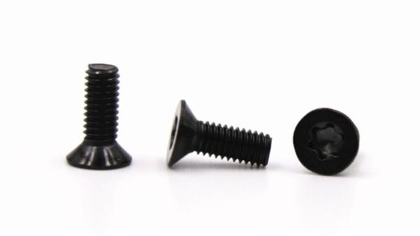 沉头梅花不锈钢PVD黑色螺丝怎么检查表面电镀的质量?