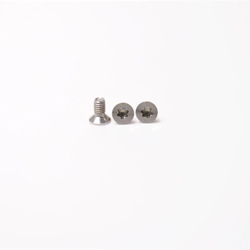 M3*6沉头梅花CD纹螺丝