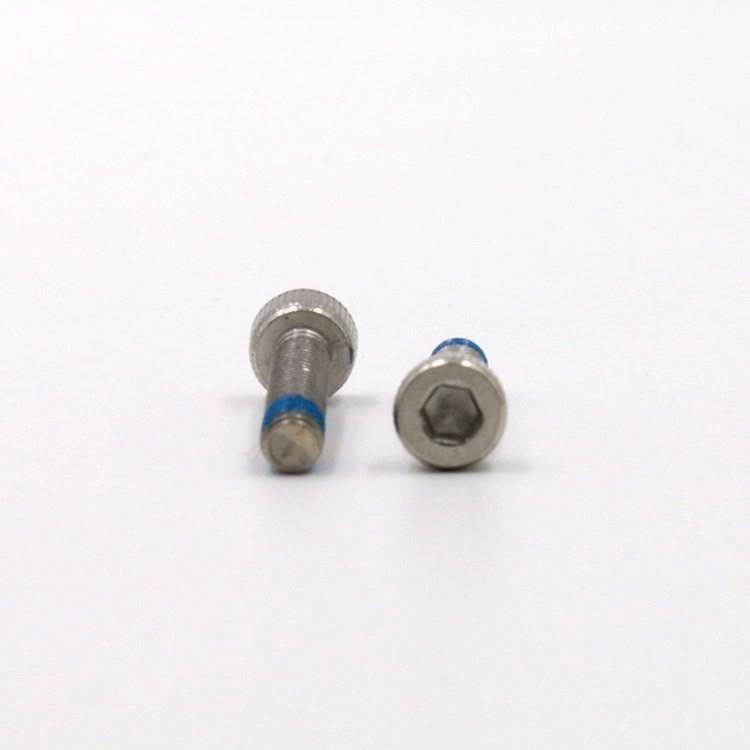 M4*12圆柱头内六角不锈钢防松螺丝