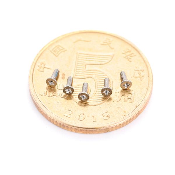 平头十字M1.4微型螺丝