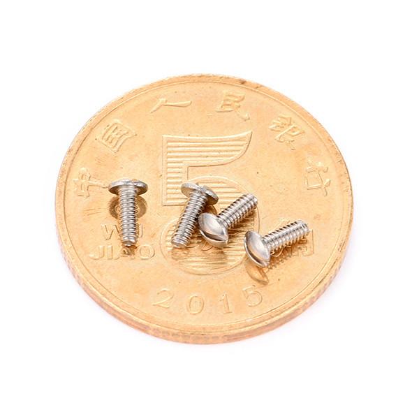 盘头一字M1.0微型螺丝