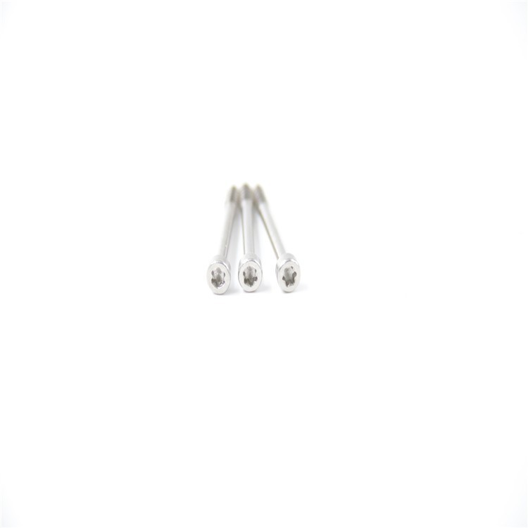 M2.5*25圆柱头梅花半牙螺丝