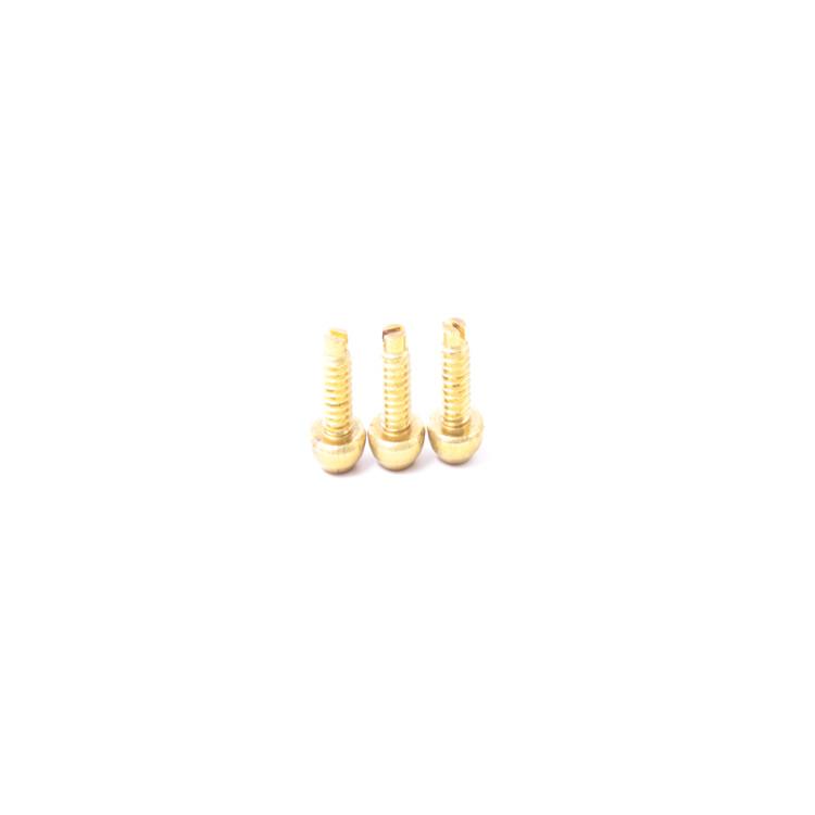 M5盘头十字黄铜非标螺丝