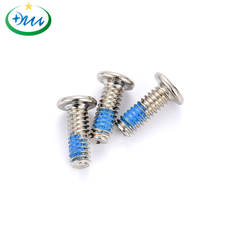 平头十字微型碳钢防松螺丝(8)