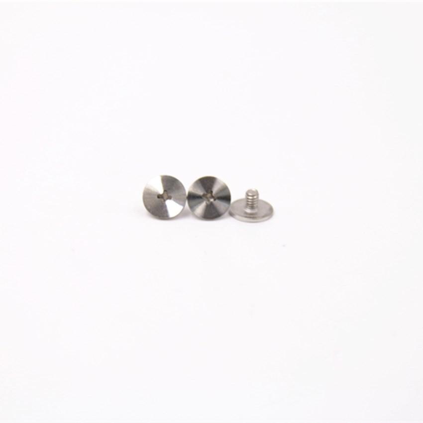 304不锈钢平头十字CD纹螺丝