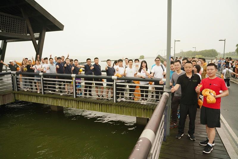 沿阳澄湖徒步 (3)