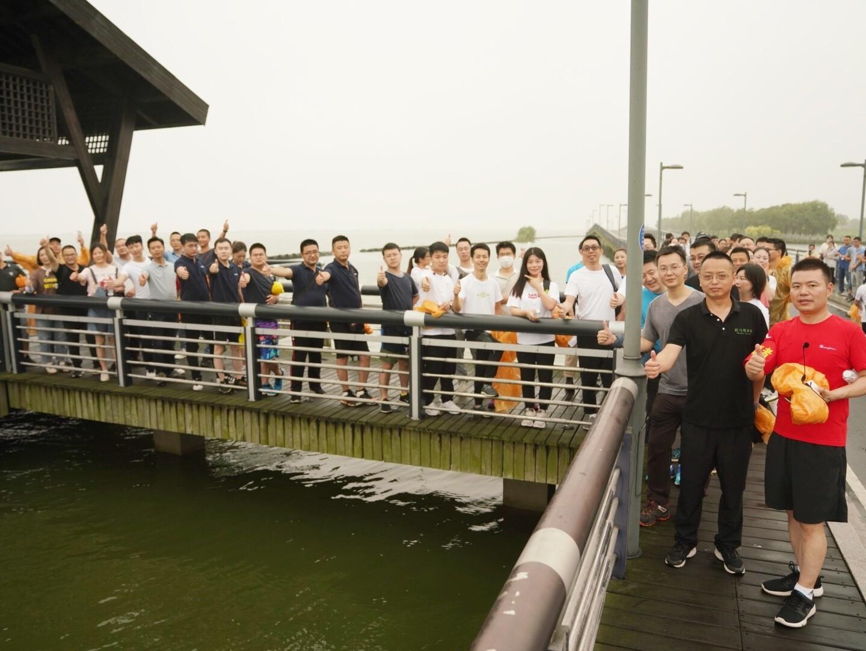 阳澄湖徒步
