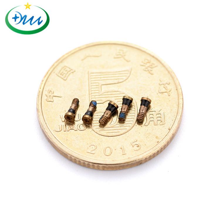M1.2梅花微型铜螺丝5