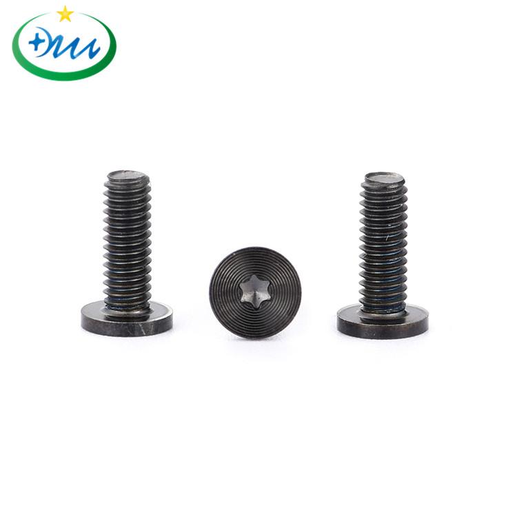 平头梅花碳钢黑锌CD纹螺丝5