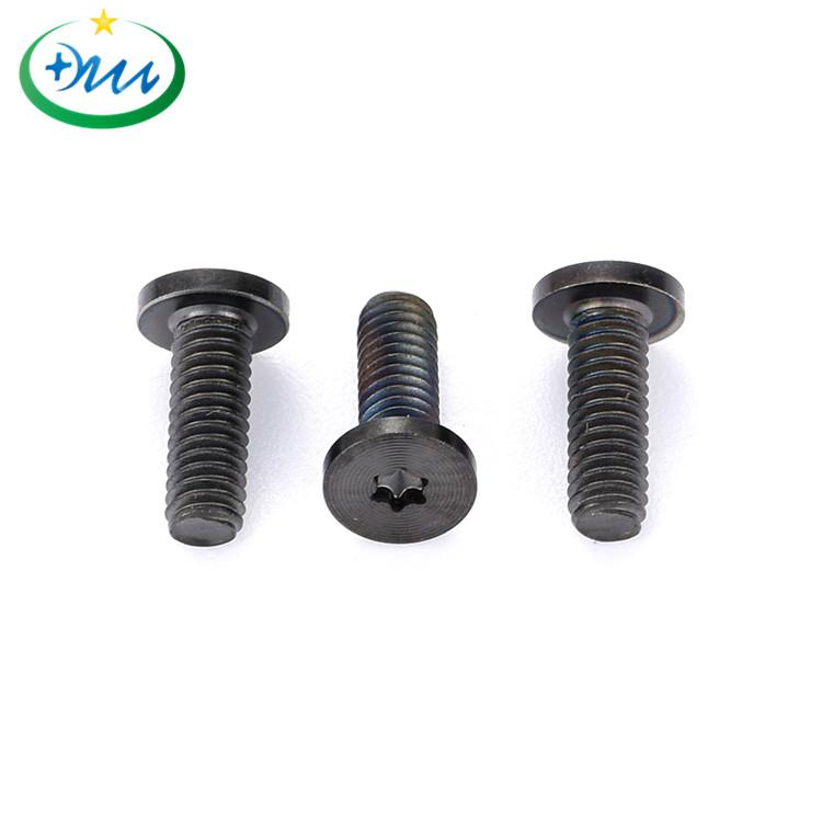 平头梅花碳钢黑锌CD纹螺丝3
